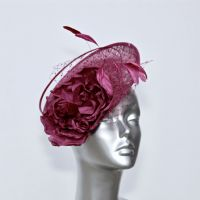 Blackcurrant jam small disc fascinator 16442/SD292